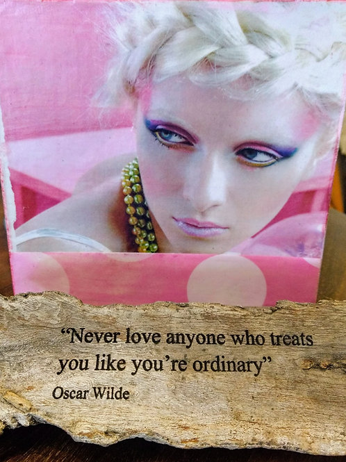 never love anyone