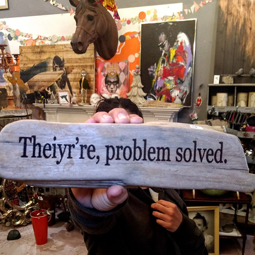 theiyr're problem solved