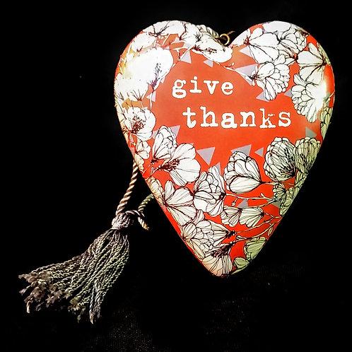 art heart give thanks
