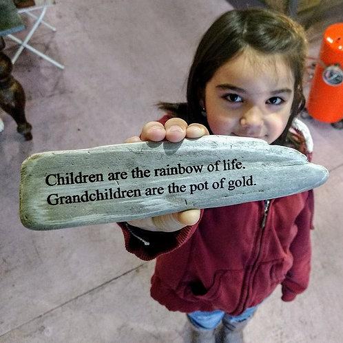 children are the rainbow of life