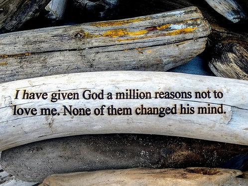 i have given god