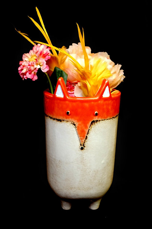 fox vase**IN STORE PICK UP ONLY**