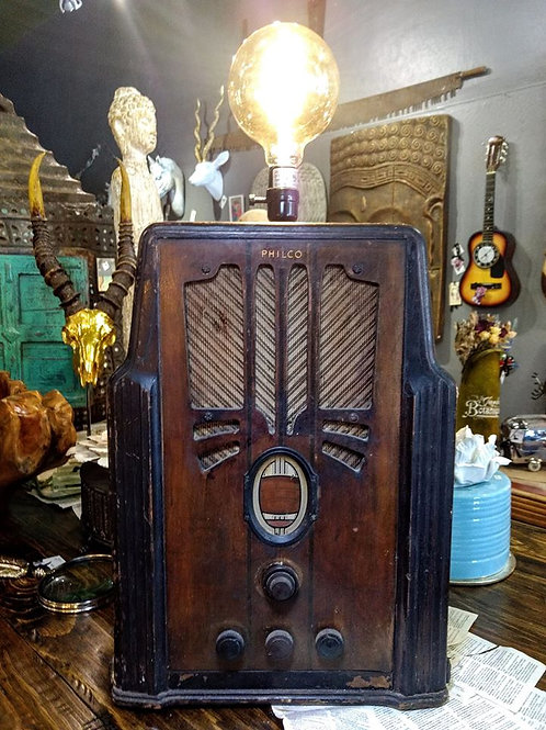 1930 Philco radio light**IN STORE PICK UP ONLY**