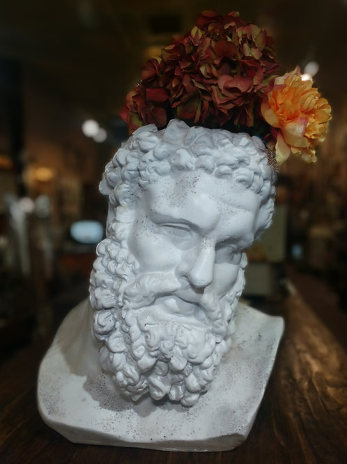 Massive Hercules planter or vase made from fiberstone**IN STORE PICK UP ONLY**