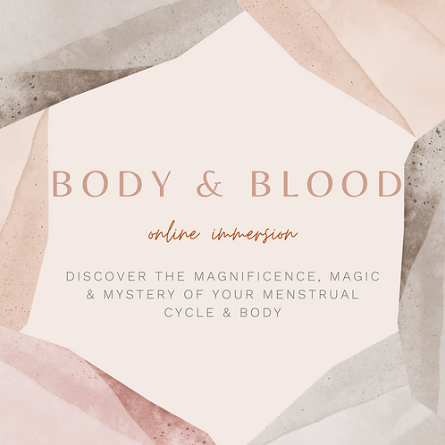 Body & Blood course