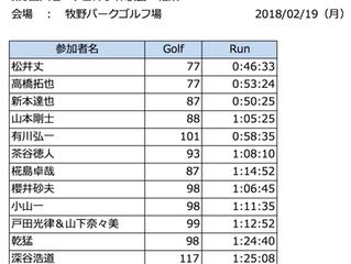 第3回スピードゴルフ体験会開催!13人が淀川沿いを快走!