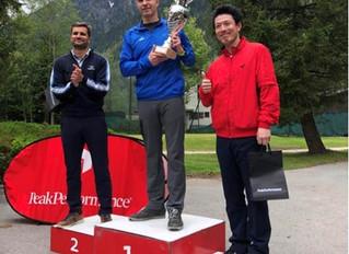 新本選手3位!フランススピードゴルフ選手権