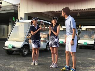 大人気ゴルフ女子がまたまたスピードゴルフにチャレンジ!