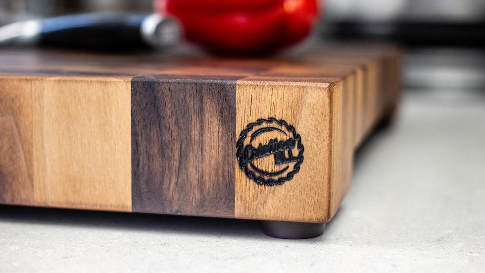 Black Walnut - Custom & Personalized End Grain Cutting Board
