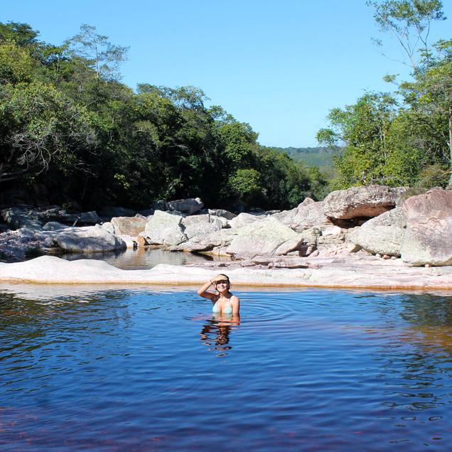 Trilha para a Cachoeira do Sossego