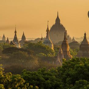 Bagan - Um dos melhores lugares do mundo