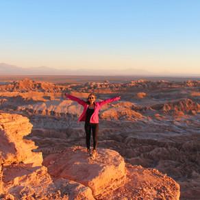 Deserto do Atacama - Valle de la Luna