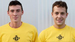 Speler(s) van de maand september: Diego Van Cauwenberghe & Stijn Vanderhaeghe