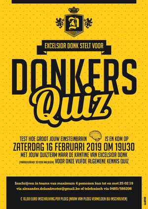Donkers quiz 5