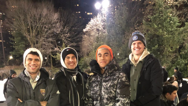 Ice Staking in NYC with NYCFC Players