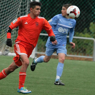 Enzo playing for New York Soccer Club
