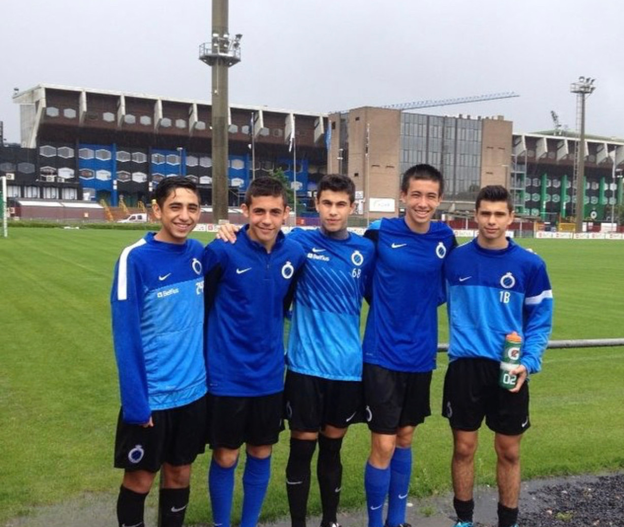 Coaches Training with Club Brugge