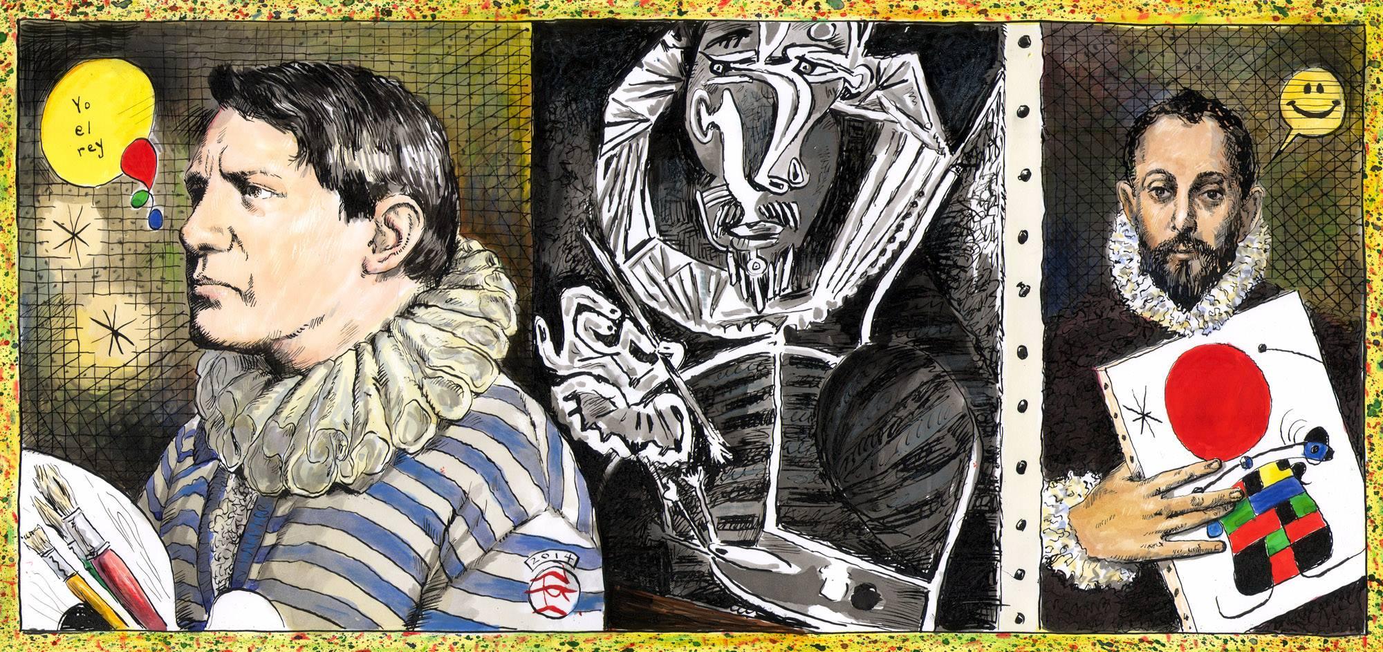"""""""El Greco Consents to Pose..."""""""