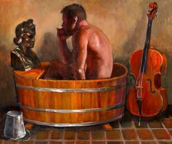 """""""A Cellist Contemplates a Bust..."""""""