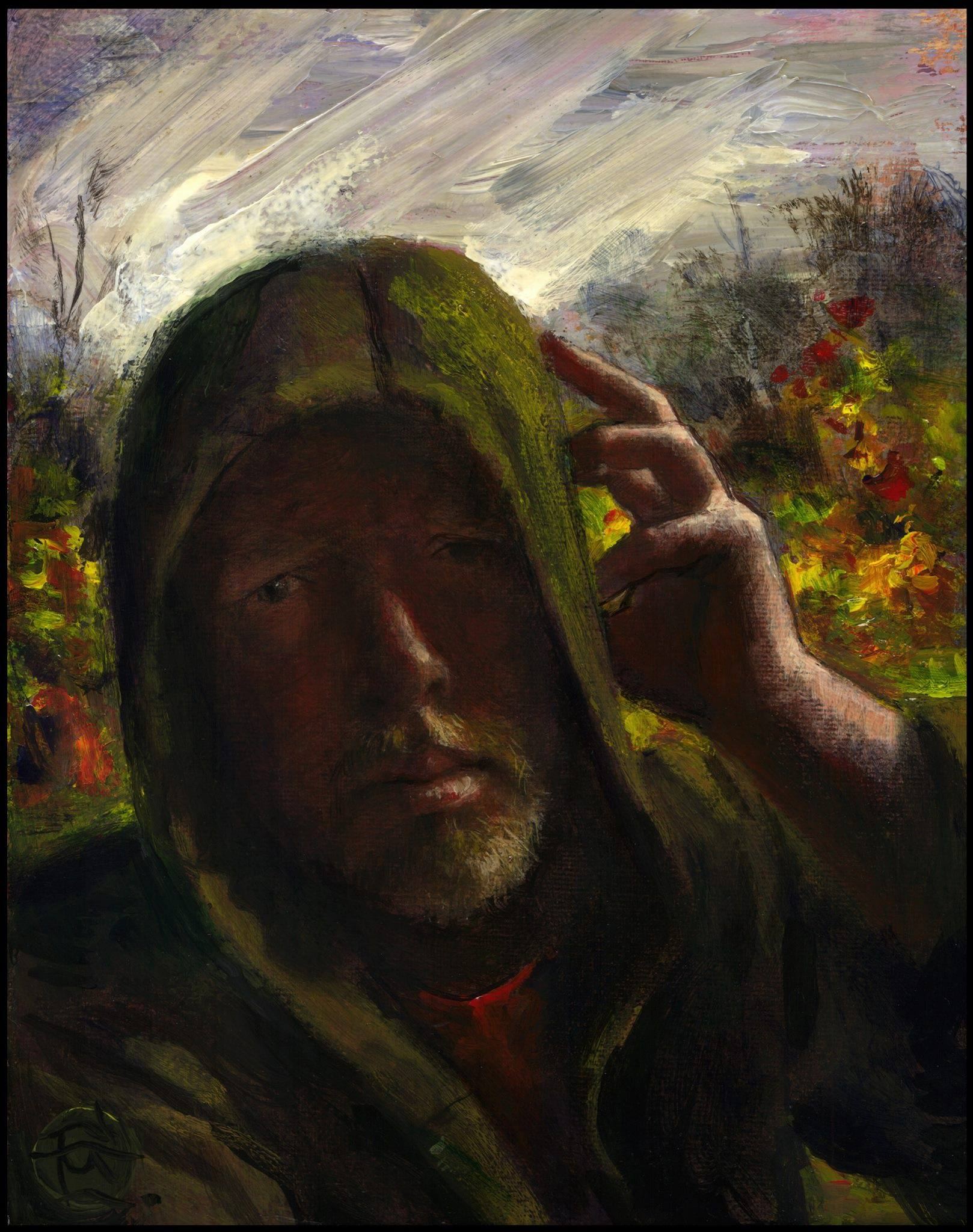 """October Self-Portrait"""