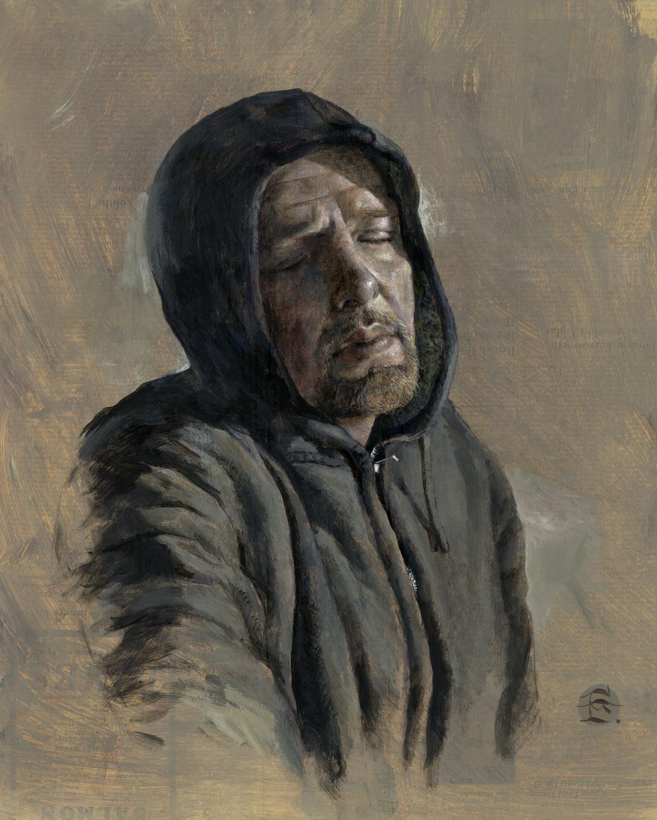 """Winter Self-Portrait"""