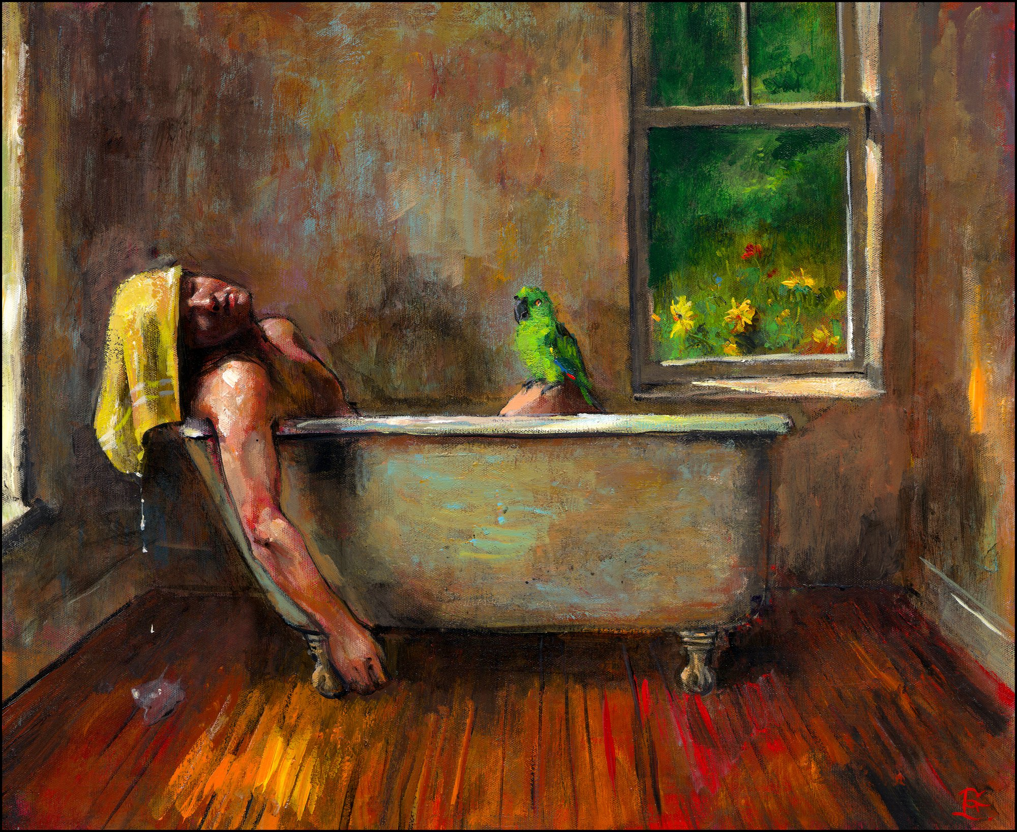 """Swelter"" (Self-Portrait)"