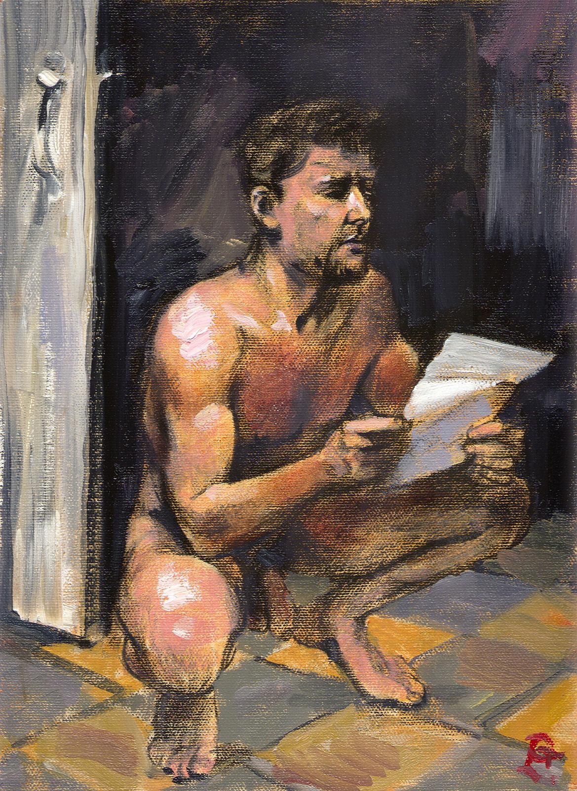 """""""The Letter (Artist as Model)"""""""