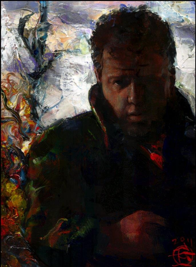 """Autumn Self-Portrait"""