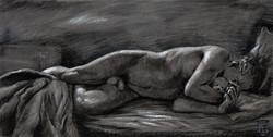 """Lightning Strike"" (Self-portrait)"