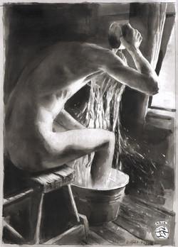 Untitled (bather after Koppitz)