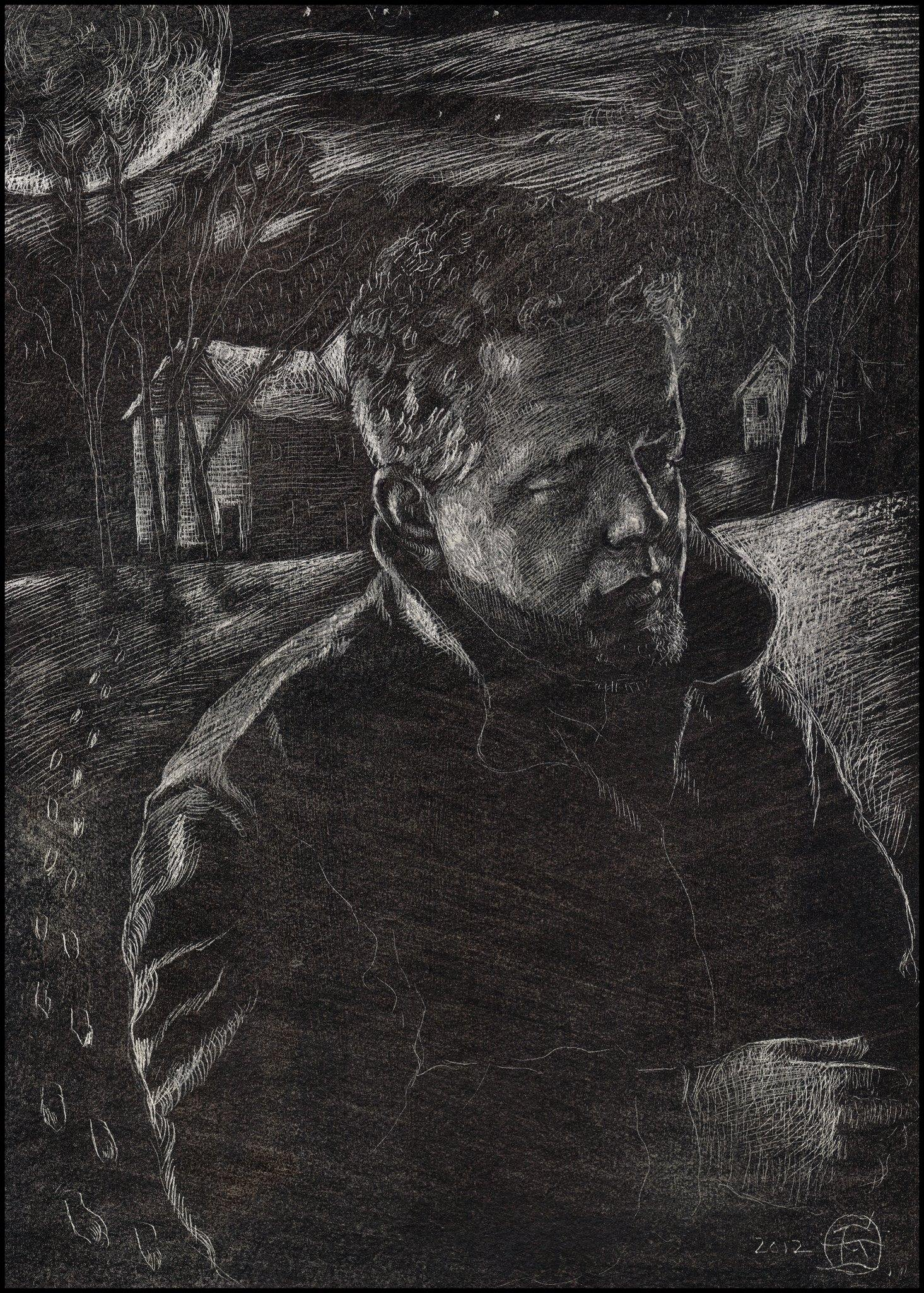 """Self-Portrait in Winter"""