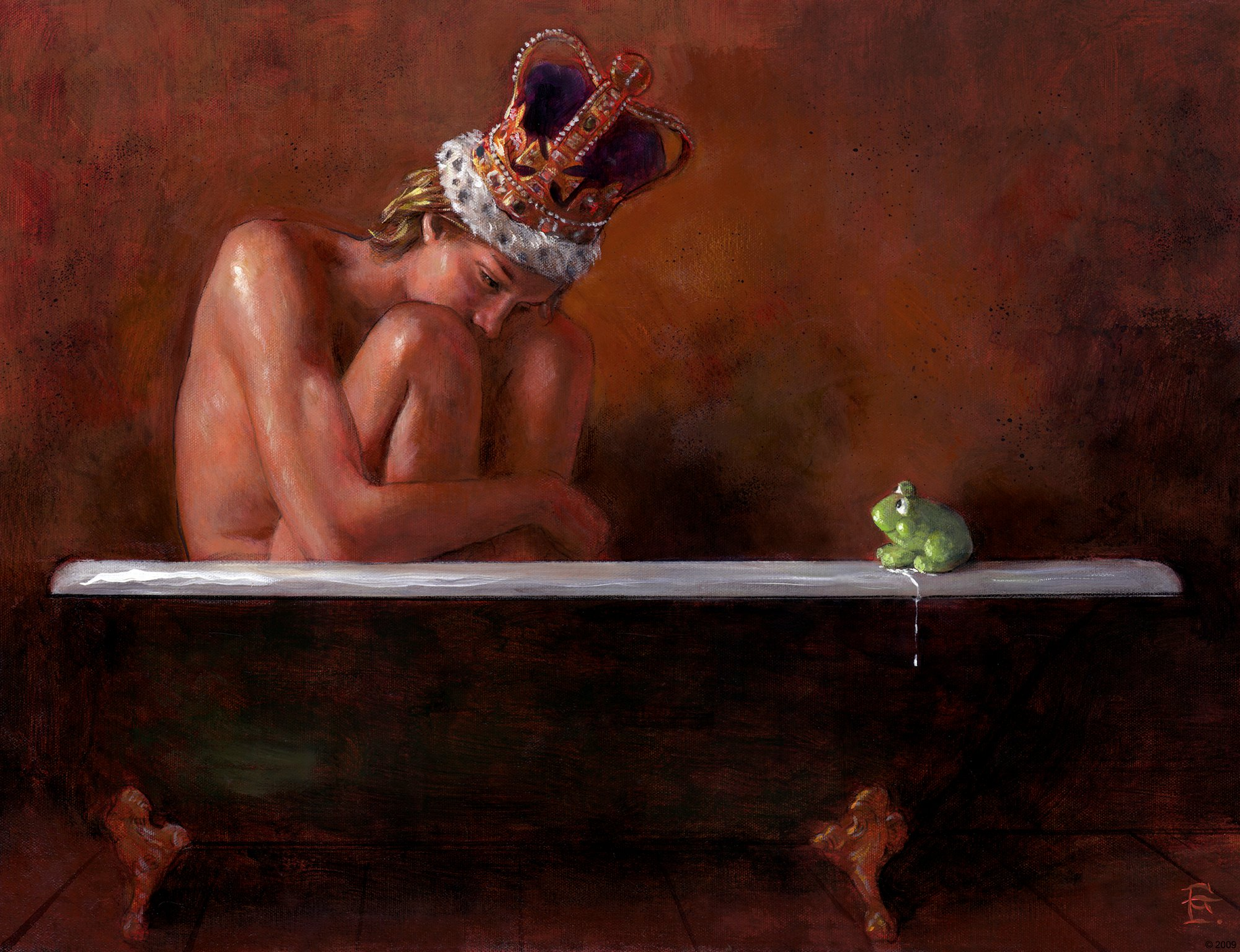 """Bath of the Frog Prince"""