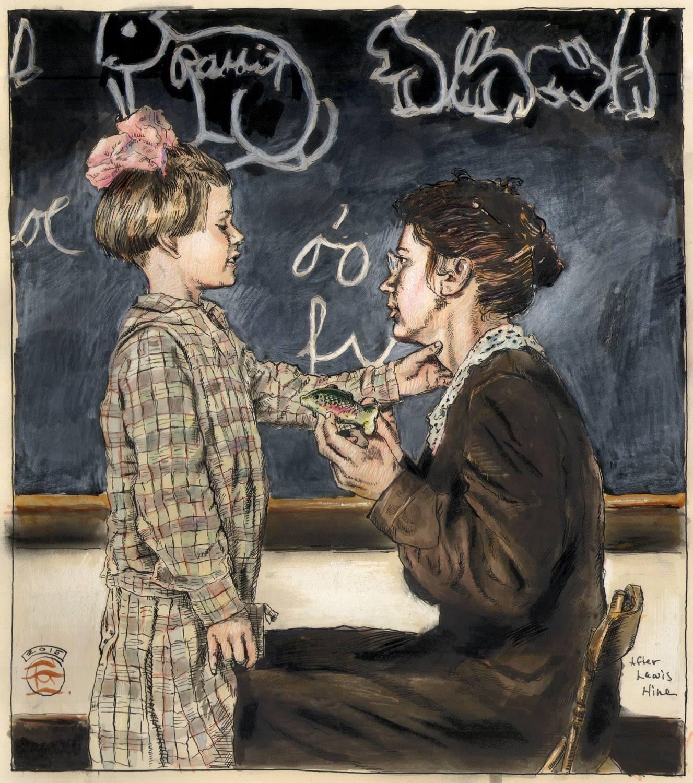"""Teaching a Deaf-Mute Child to Talk"""