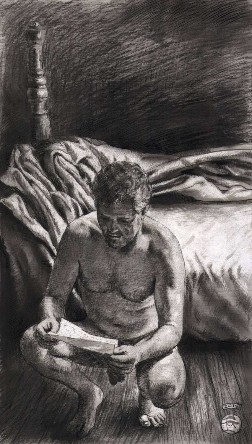 """The Letter"" (Self-portrait)"