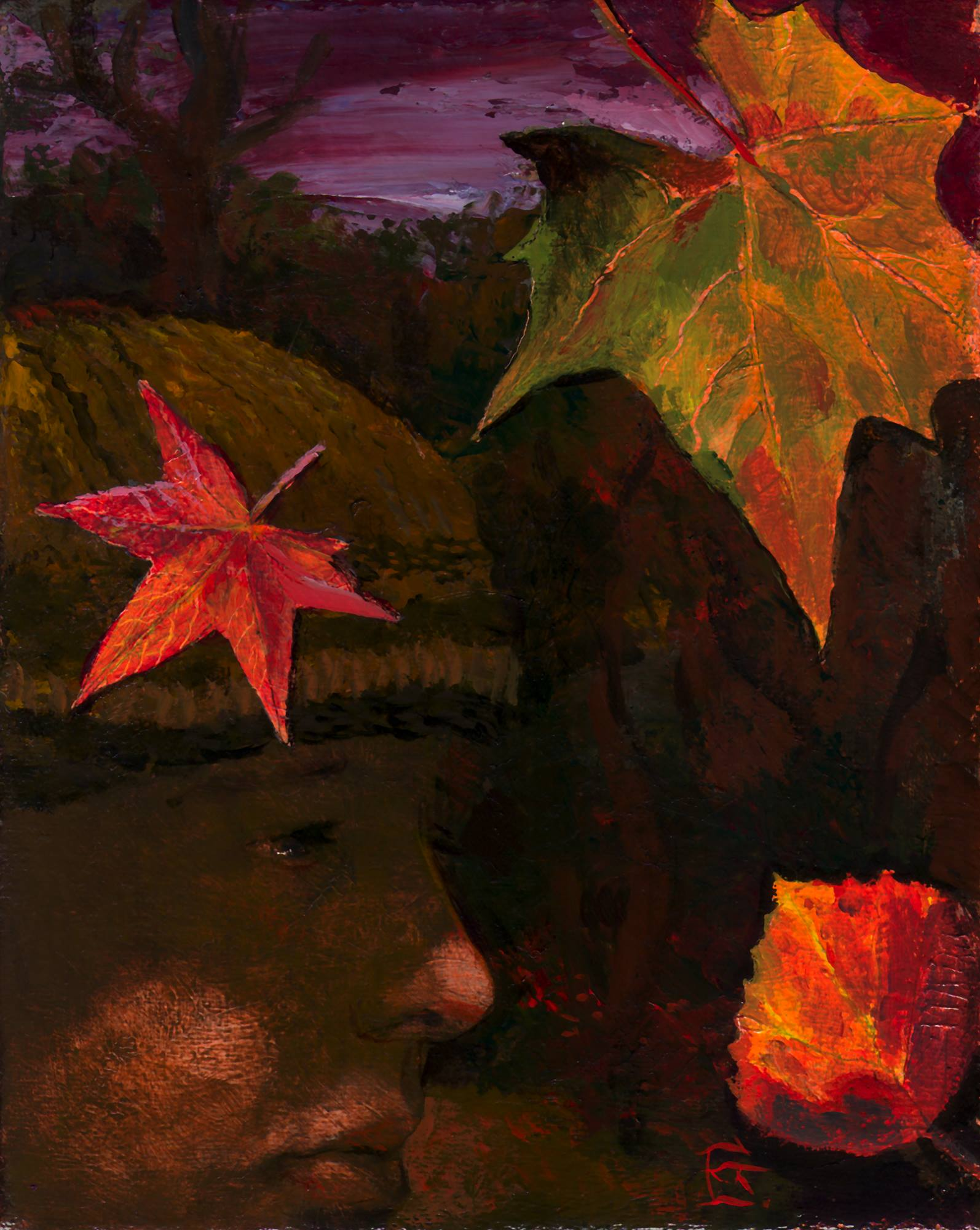 """Autumn Self-Portrait"""
