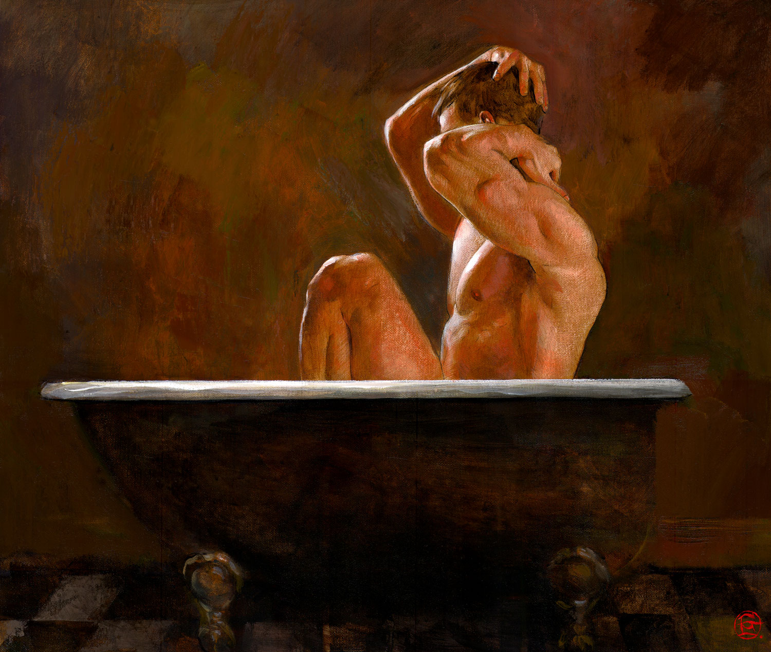 """The Last Bather"""