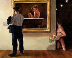 """Musee Gladstone"" (Self-portrait)"