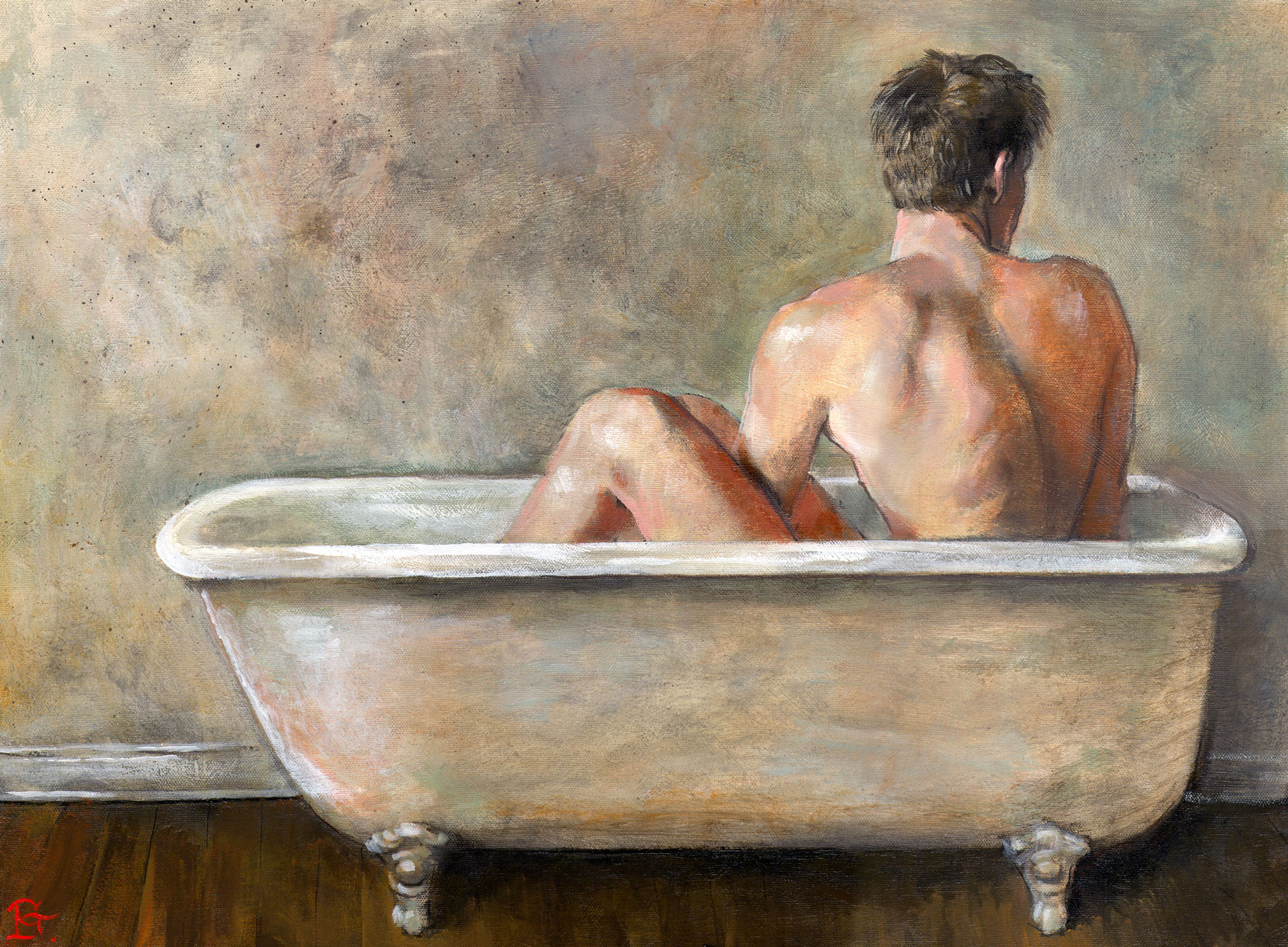 """The Gray Bather"""