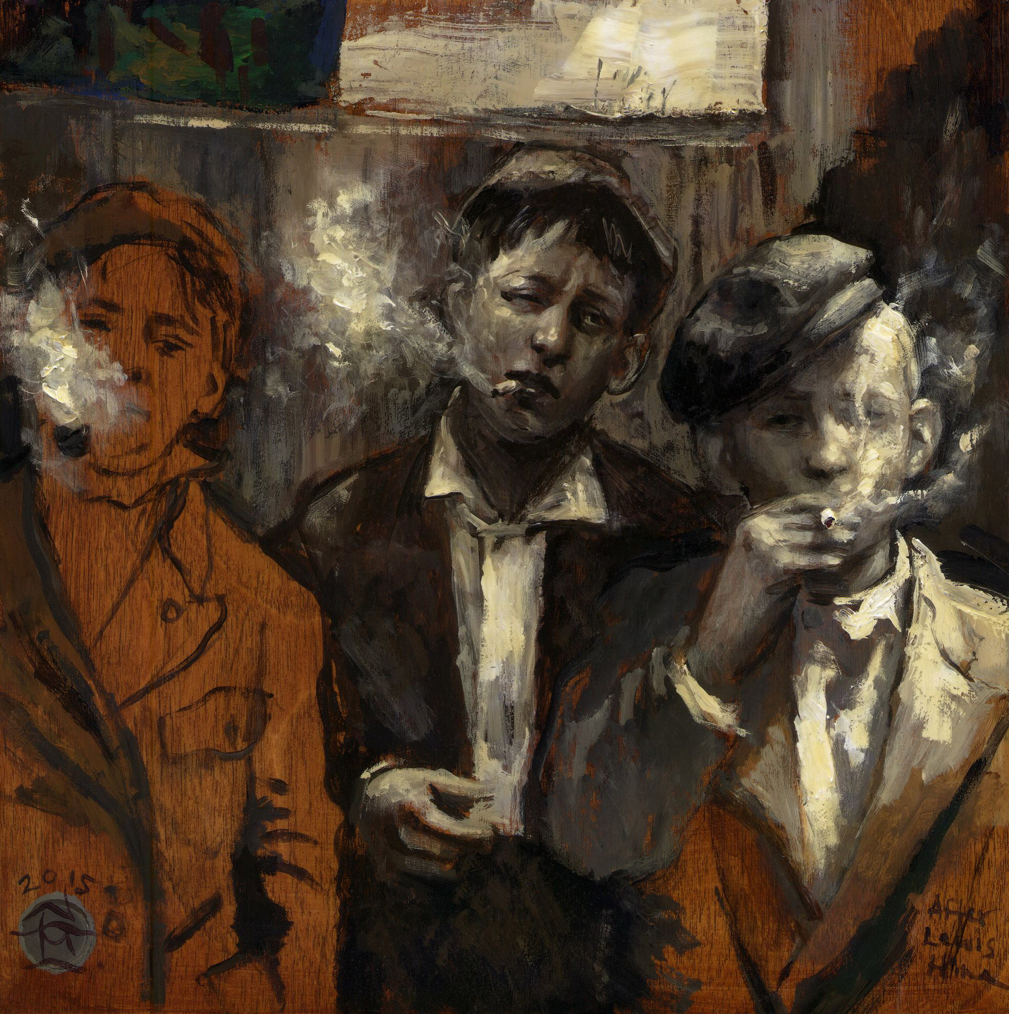 Untitled (smoking boys)