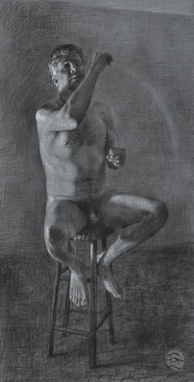 """The Gesture"" (Self-portrait)"