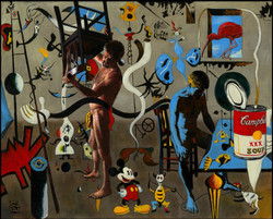 """""""Even in the House of Miró, the Middle-Aged Artist Finds No Peace"""""""