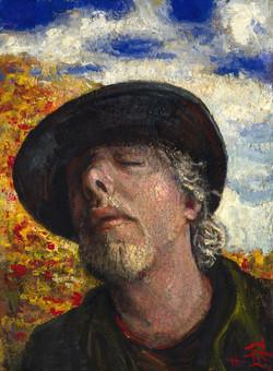 """Autumn Self-Portrait #7"""