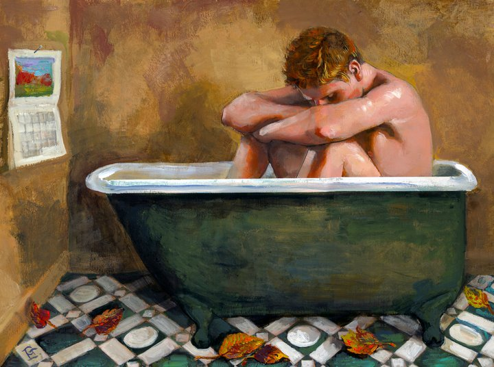 """October Bather"""