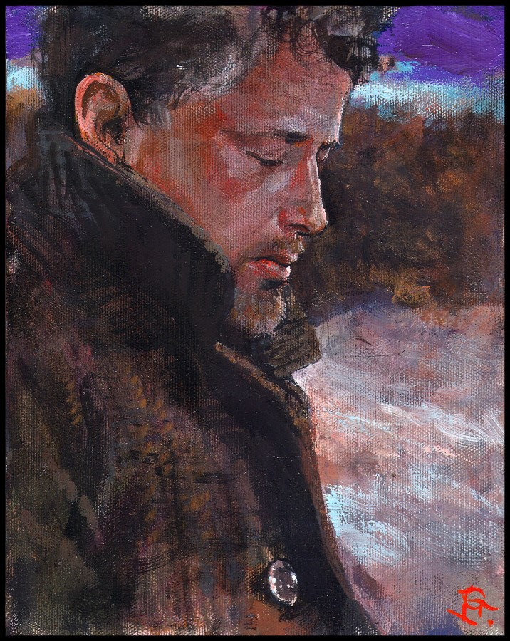 """Winter Self-Portrait"""