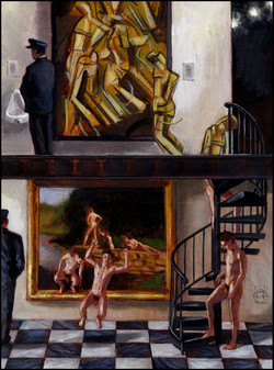 """Nudes Ascending a Staircase"""
