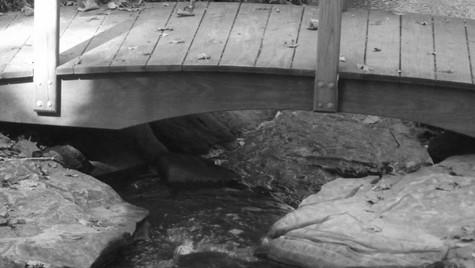 black and white bridge 1