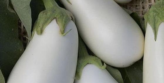 Eggplant - White Casper                 30 Seeds