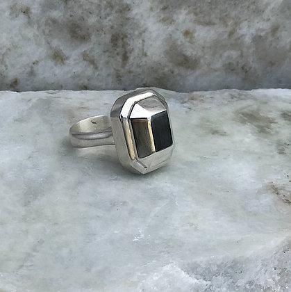 Emerald Gem Cocktail Ring