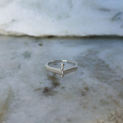 Single Rivet Ring