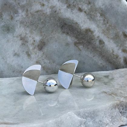 Eze Propeller Stud Earrings